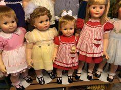 Playpal dolls Marla's Ideal Toys, Play Houses, Beautiful Dolls, Kids Toys, Harajuku, Flower Girl Dresses, Friends, Children, Model