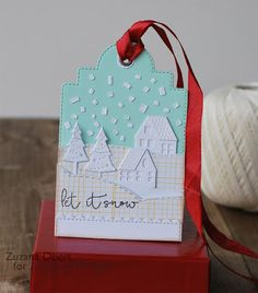 In My Creative Opinion: 25 Days of Christmas Tags - Day 12