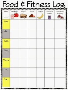 New Year, New You, New Freebies, I totally need this freebie to keep my eating organized and on track.