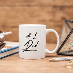 7a06190b First Time Dad Gift | 1st Fathers Day Gift 2019 | Dad Gift from Baby Gift  from Son | Dad Gift from Kids Daddy and Son | To Dad from Daughter