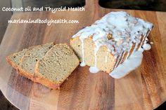 Coconut Flour Zucchini Bread, Paleo zucchini bread, low carb zucchini bread, gluten free zucchini bread