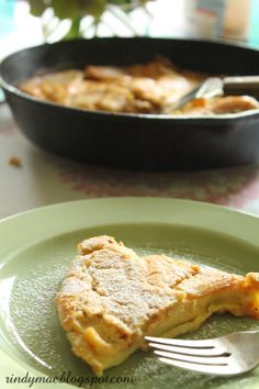 Apple German Pancake... Eventually I'll need to learn how to make these
