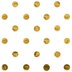 Jillson Roberts Hot Stamped Tissue, Metallic Gold Dots (24-Sheet Count). For around vases.