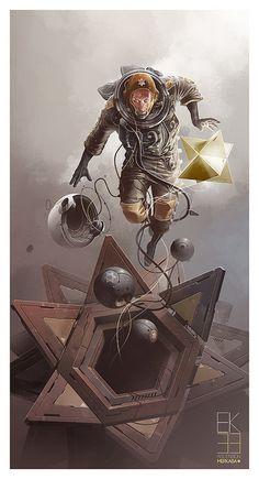 EK_33 Ascension (Merkaba)