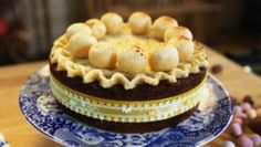 Mary Berry's Easter simnel cake Decorate this traditional Easter cake with crystallised primroses or Graham, Cake Mixture, Easter Traditions, Cake Tins, Tray Bakes, Berries, Easter Cake, Simnel Cake Easter, Pastries