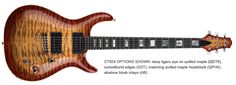 Carvin CT624 24-Fret California Carved Top Guitar