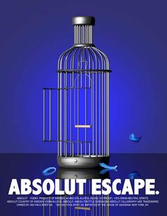 Absolut ad #beverage #alcohol #creative