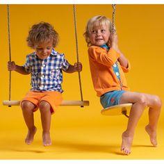 AlbaBaby Orange Albert Shirt