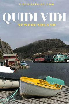A visit to the beautiful village of Quidi Vidi, Newfoundland — home to the famed Mallard Cottage restaurant and their new hotel, The Inn by Mallard Cottage. Travel With Kids, Family Travel, Canadian Travel, Canadian Rockies, Gros Morne, Visit Canada, Canada Eh, Canada Destinations, Newfoundland And Labrador