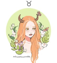 "Taurus (btw why is that in almost every astrology post i see taurus is the one left with the simpliest things like ""taurus loves food"" like yes but. i'm sure there's a bit more than that lol) Zodiac Signs Taurus, Astrology Zodiac, My Zodiac Sign, Gemini, Taurus Art, Taurus Love, Anime Zodiac, Zodiac Art, Character Drawing"