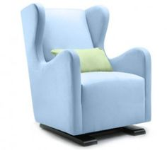 Monte Vola Wingback Glider. Go ahead. Wing it. See it here! >> http://yourbabybooty.com/gear/fashionista-mama/monte-vola-wingback-glider-2/