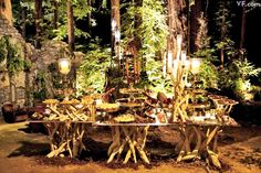 Sean Parker Fantasy Lord of the rings Tolkien wedding in the forest. Magical.