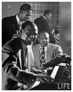 Earl Hines on Piano, Count Basie 45