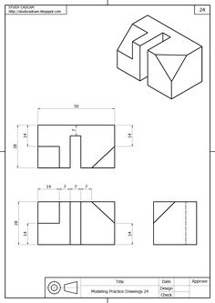 1 million+ Stunning Free Images to Use Anywhere Isometric Drawing Exercises, Autocad Isometric Drawing, Mechanical Engineering Design, Mechanical Design, Shadow Drawing, Cad Drawing, Drawing Practice, Drawing Skills, Orthographic Drawing