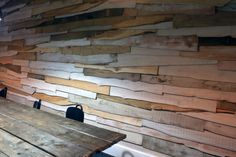 Ive recently finished cladding a feature wall for Archilime Ltd...