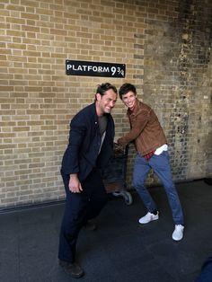 Eddie Redmayne & Jude Law September 1st 2018