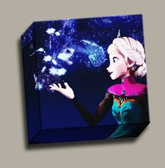 https://www.etsy.com/listing/179996977/frozen-queen-elsa-canvas-disney-wall-art