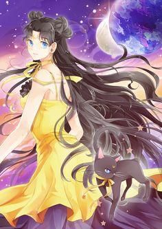 girlsbydaylight:  ☾—Luna—☾ by d.m on pixiv