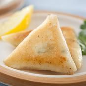 Samoussas de chèvre frais coriandre et citron confit - une recette Barbecue - Cuisine