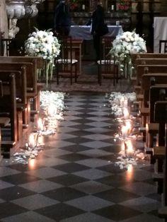 Ceremony in church.. Flowers: Egle Kazokaite