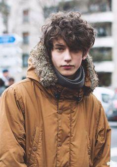 Model Timofei Rudenko during Paris fashion week 2016 - by Ray Fu