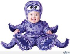 Octopus Baby Costume, Baby Halloween Costumes