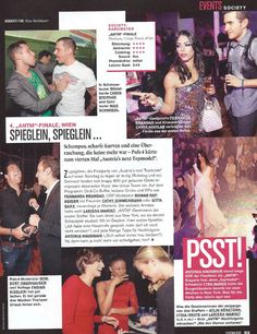 Chris Aguilar, 2011 winner on Austria's famous TV show 'Pop Stars', SPOTTED wearing a MRJ Classic Gun Holster at the after party of Austria's Next Top Model finale... coverage by Seitenblicke Magazine.