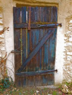 The old door at LaTour