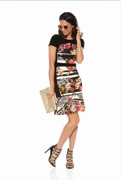 JOSEPH RIBKOFF | NEW 2016 Collection |  Floral Dress |  ASPIRATIONS. Enquiries 0395932007