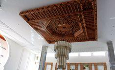 l'artisanat marocain : les plafonds en bois ou Platre - Plafond platre