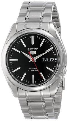 Amazon.com: Seiko Men's SNKL45 Stainless Steel Automatic Watch: Seiko: Clothing