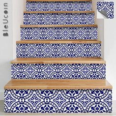 Portugal Terracotta Inspired Tile/Wall/Stair/ Floor Vinyl Decal/ Stickers Decal (The order pack can be customized with your required Size & Quantity, Please send us a message with size & quantity & we will send you a link to order them.) O R D E R . P A C K The design contains total 44 tile