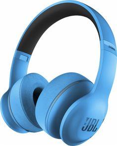 JBL - EVEREST 300 Wireless On-Ear Headphones - Light Blue - Angle Zoom