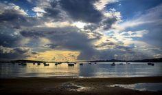 Clouds over Alyki, Paros island