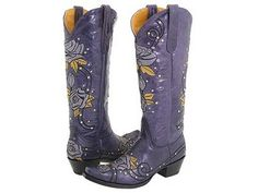 designer cowboy boots | My wish list favorite are these Golden Goose Star Zip Boots with ~ WOW, my colours: blue and yellow <3 <3 <3