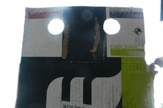 Cardboard Boxes show their real face - 457 - Pareidolia