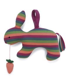Look at this Jolie Bunny Musical Pull Plush Toy on #zulily today!