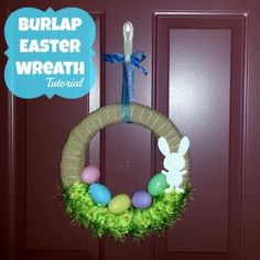 Easter Wreath Tutorial