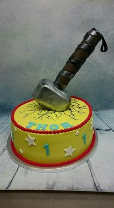 Thor Cake By Michelle S Cake Designs On Www Cakeside Com