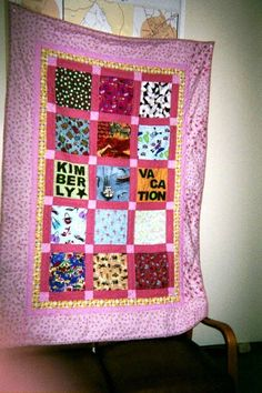 Kimberly's quilt.