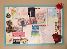 Give your old bulletin board an easy facelift with a few coats of paint