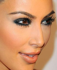 Kim Kardeshian's Smokey Make-Up ... My Beauty Youtube : https://www.youtube.com/user/ThinkMakeupWithMe
