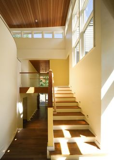 Modern staircase (with great natural light)