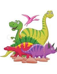 dinosaur cartoon prints
