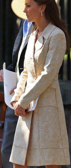 Kate Middleton Evening Coat