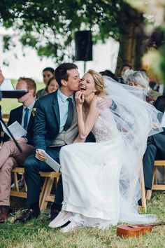 A Joyous Outdoor and Nature Inspired Christian Wedding