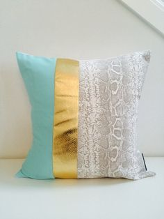 Decorative Throw Pillow Cover 20x20 Square by sheshappydesign