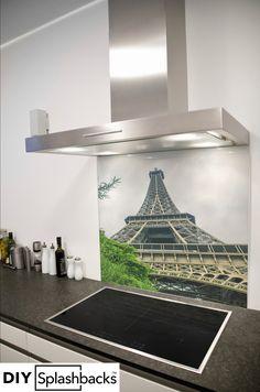 Glass Splashbacks for Kitchens Printed Glass Splashbacks, Capital City, Tower, Dining Table, Paris, Board, Inspiration, Design, Home Decor