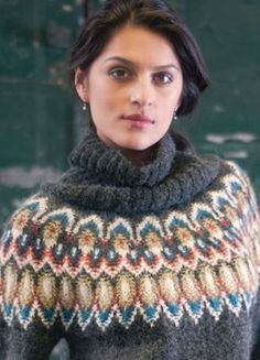 Vogue Knitting Winter 2015/16 and its collection Swedish Modern inspired by Bohus knitting.