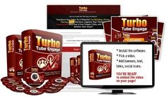 """[GIVEAWAY] Turbo Tube Engage [Boost Your Viewers' Interactions]     Turbo Tube Engage is a brand new created from scratch Software that allows customers transform any youtube video to a VIRAL, MONEY MAKING, LIST BUILDING Interactive Machine by DISPLAYING on it (MULTIPLE!!) BANNERS, SOCIAL ICONS, CUSTOM HTML, SIGNUP FORMS*, ORDER* LINKS & BUTTONS and… ADS or SPECIAL EFFECTS* all through an """"a la grandma-friendly"""" super easy way – in just a few clicks…"""